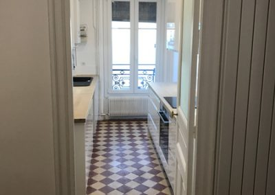 Cuisine appartement paris 75011