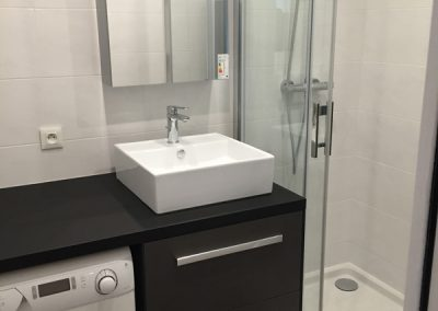 Aménagement d'une salle de bains en Île-de-France