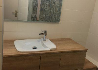 Création d'une salle de bains en Île-de-France