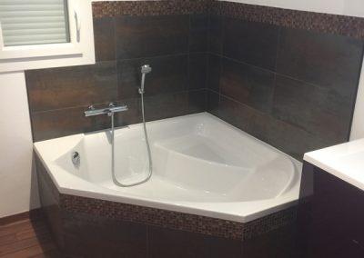 Création d'une salle de bains sur-mesure en Île-de-France